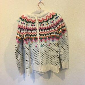 Talbots Sweaters - Talbots carnival fair isle sweater